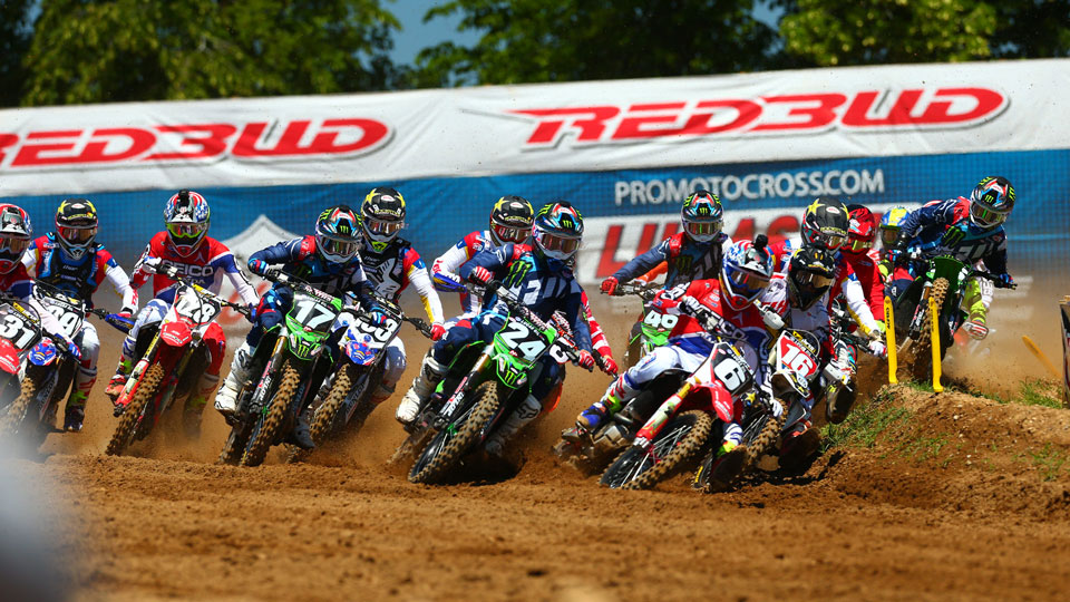 7 day package including AMA Motocross Nationals