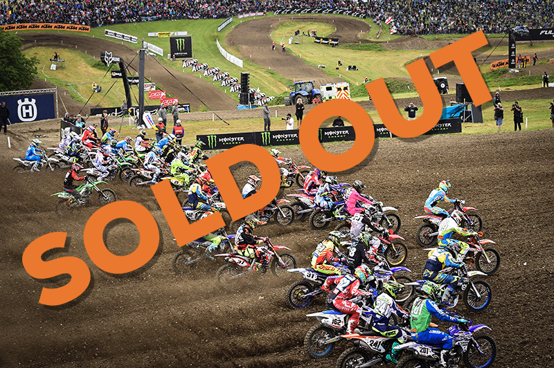 (SOLD OUT) Exclusive VIP Package Red Bud MXoN 2018