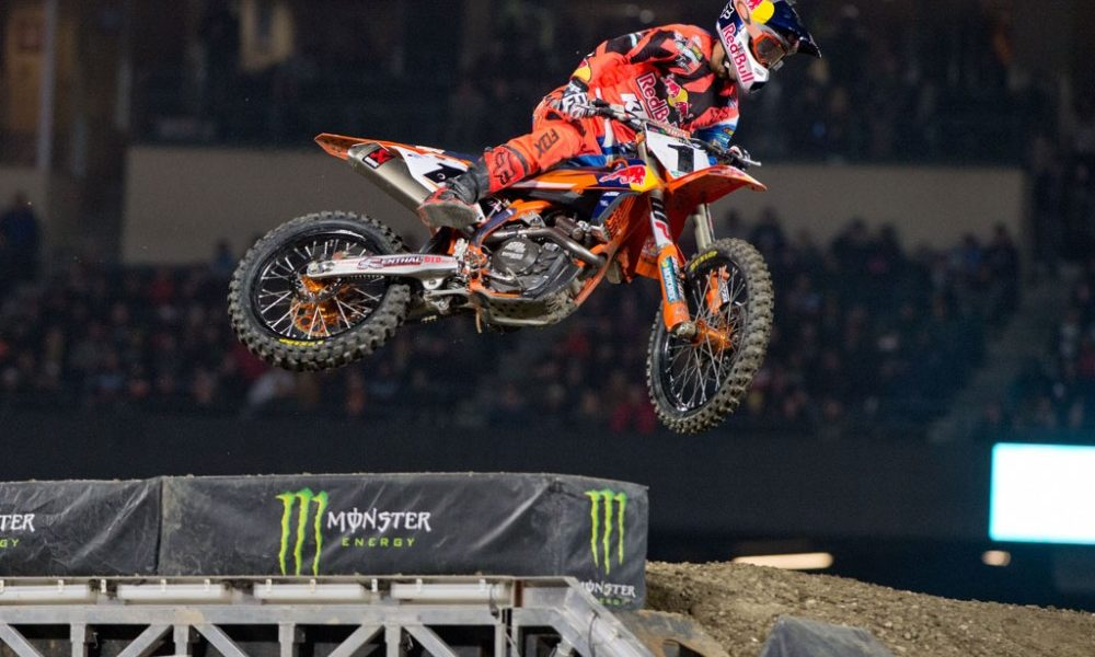 7 day Supercross package including Anaheim 2