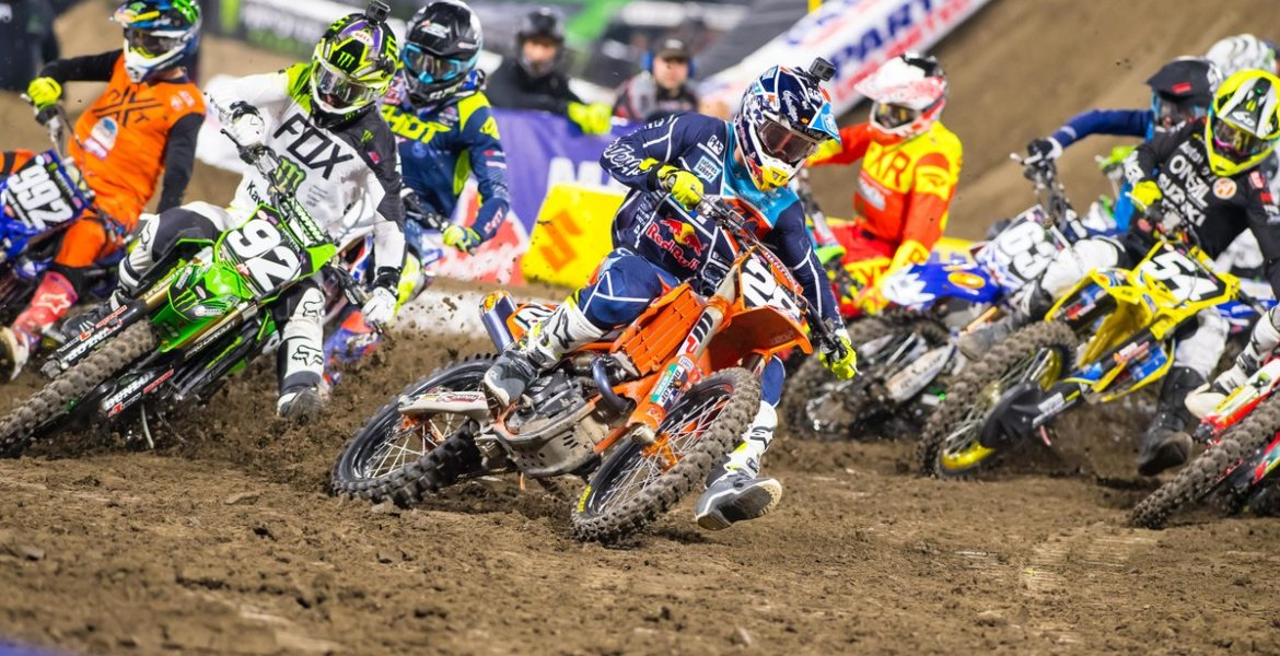 10 day package. Monster Energy Cup Supercross. Carson, California