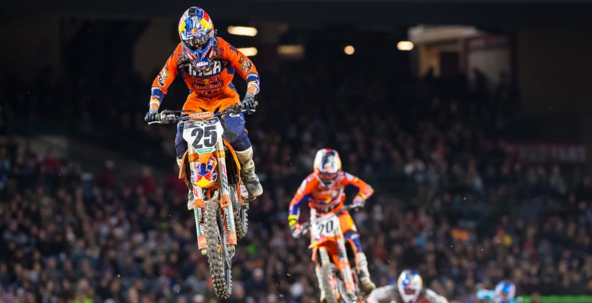 7 day package - Monster Energy Cup Supercross. Carson, California